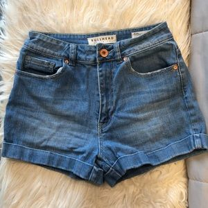 PacSun Bullhead highwasited MomShorts